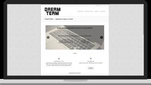 DreamTeam24.pl - Realizacja Stronyzpasji.pl